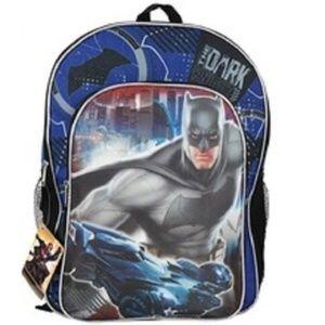 Batman The Dark Knight 16 Inch Large Backpack